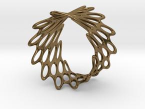 Net Bracelet in Natural Bronze