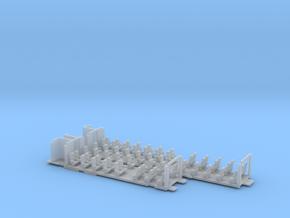 Inneneinrichtung Interex 1. Klasse FUD TT 1:120 in Smooth Fine Detail Plastic
