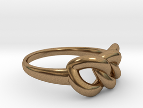 Ring of Beauty in Natural Brass