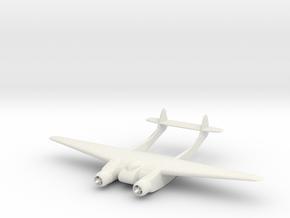1/200 Burnelli CBY-3 Loadmaster in White Natural Versatile Plastic