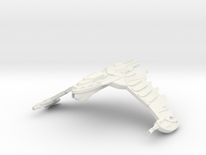 HawkWing Class Cruiser in White Natural Versatile Plastic