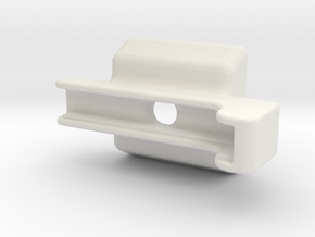 Iphone 5 Mount in White Natural Versatile Plastic
