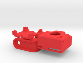 Sony 600TVL Enclosure (PnT-mount) in Red Strong & Flexible Polished