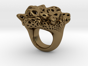 Nebula Ring in Polished Bronze