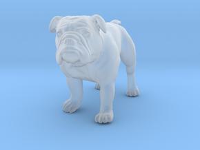 Bulldog S Full Color Sandstone in Smooth Fine Detail Plastic