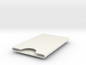 Awesome Case 123D in White Natural Versatile Plastic