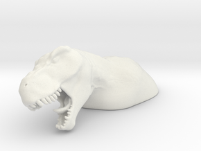 TRex in White Natural Versatile Plastic
