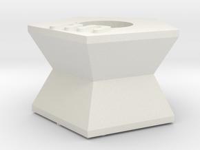 Pandora03 in White Natural Versatile Plastic