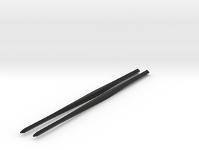 Shapeways Twistedsticks 140mm Long in Black Strong & Flexible