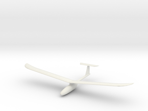 Printed Plane Mini-Me in White Natural Versatile Plastic