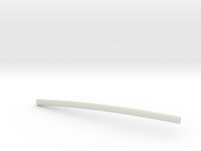 Scabbard for Enishi Yukishiro's Wato in White Natural Versatile Plastic
