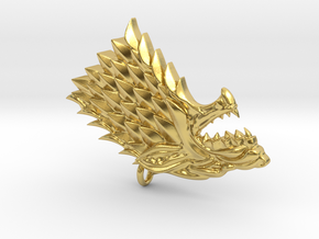 Game Of Thrones - Stark in Polished Brass
