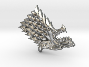 Game Of Thrones - Stark in Natural Silver