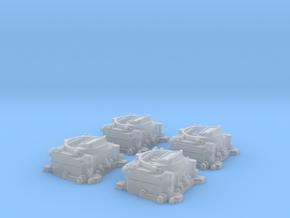 1/12 Carter 4 BBL Carburetors in Frosted Ultra Detail