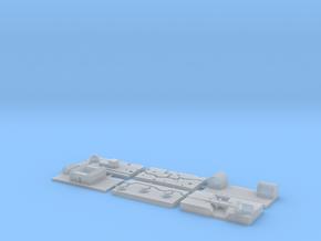 "1"" Building Set 8 - World War One Set 1 in Smooth Fine Detail Plastic"