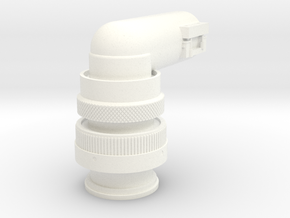 Rotational Control Plug in White Strong & Flexible Polished