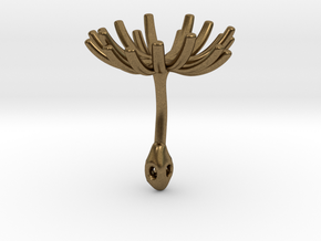 Wild Wind  Dandelion / part 2 - Seed Large in Natural Bronze
