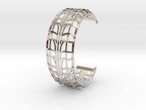 Tire Bracelet in Platinum