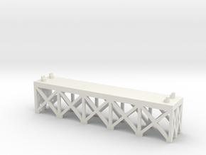 JOINER, DOUBLE TRACK 1/2 INCH in White Strong & Flexible