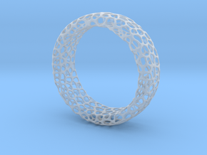 Voronoi Ring in Smooth Fine Detail Plastic