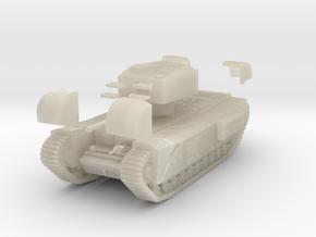 Tank- Churchill Mk III (1/87th) in White Acrylic