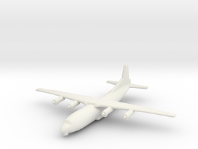 1/400 Antonov AN 12 Shaanxi Y8 in White Strong & Flexible