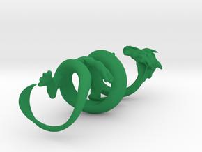 Oriental Dragon Gripper 23mm in Green Processed Versatile Plastic
