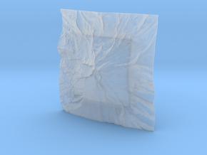 3'' Mt. Hood, Oregon, USA in Smooth Fine Detail Plastic