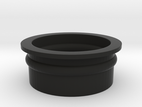 Shotgunshotglass Gasket in Black Natural Versatile Plastic