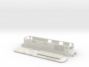 BLS Re 4/4 179 - TT Scale in White Strong & Flexible