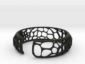 Coral Cuff in Black Strong & Flexible
