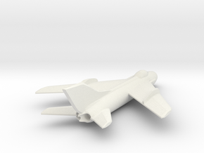 Mig-19 1:200 X1 in White Natural Versatile Plastic