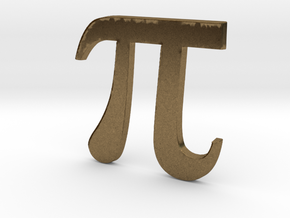 PI 3D in Natural Bronze
