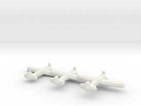 IAR.80/81C (Triplet) 1:900 in White Natural Versatile Plastic