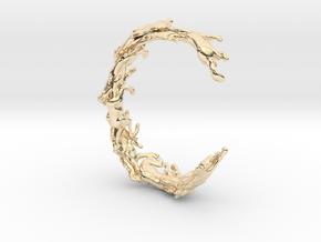 Running Horses Bracelet in 14K Yellow Gold