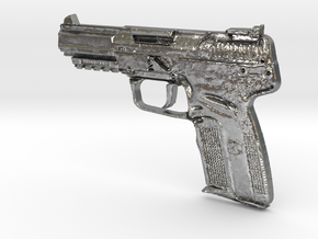 FN Five Seven 5,7mm x 28mm in Natural Silver