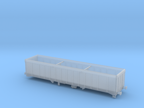 IOA Wagon in Smooth Fine Detail Plastic