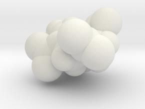 HMX in White Natural Versatile Plastic