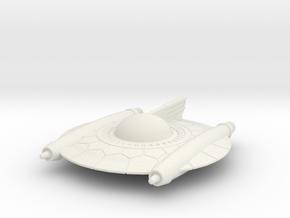 Selenite Attack Saucer in White Strong & Flexible
