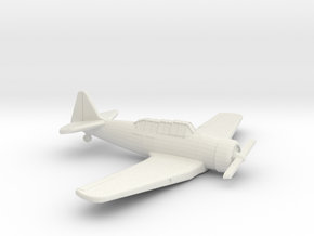 1:200 CAC WIRRAWAY/T6 in White Strong & Flexible