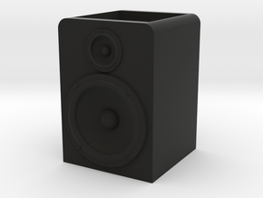 Speaker Planter in Black Natural Versatile Plastic