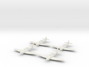 1/200 Boulton Paul Defiant (x4) in White Natural Versatile Plastic
