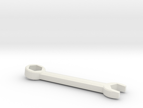 Combo Wrench in White Natural Versatile Plastic