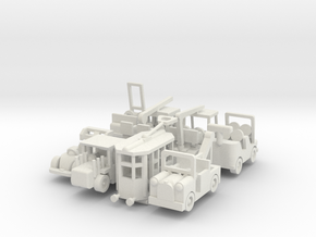 Besatzungsatzset - 1:87 (H0 scale) in White Natural Versatile Plastic