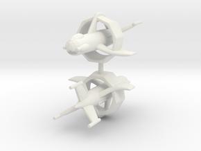 1/200 Heinkel Wespe* (x2) in White Natural Versatile Plastic