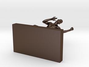 Marshall (Michael 3) in Polished Bronze Steel