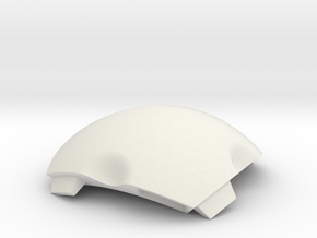 NSphere Mini (tile type:2) in White Natural Versatile Plastic