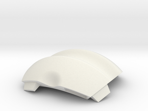 NSphere Palm (tile type:3) in White Natural Versatile Plastic