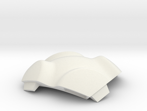 NSphere Palm (tile type:6) in White Natural Versatile Plastic