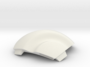 NSphere Mini (tile type:1) in White Natural Versatile Plastic